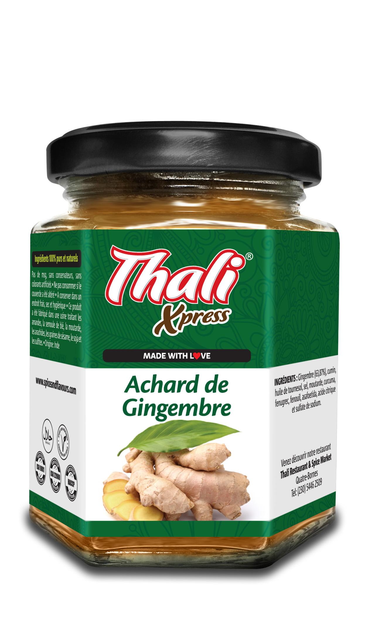 Achard de Gingembre Image