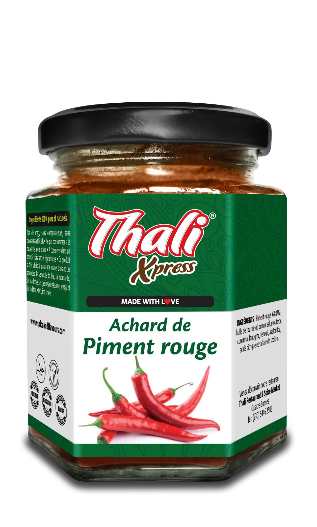 Achard de Piment Rouge Image