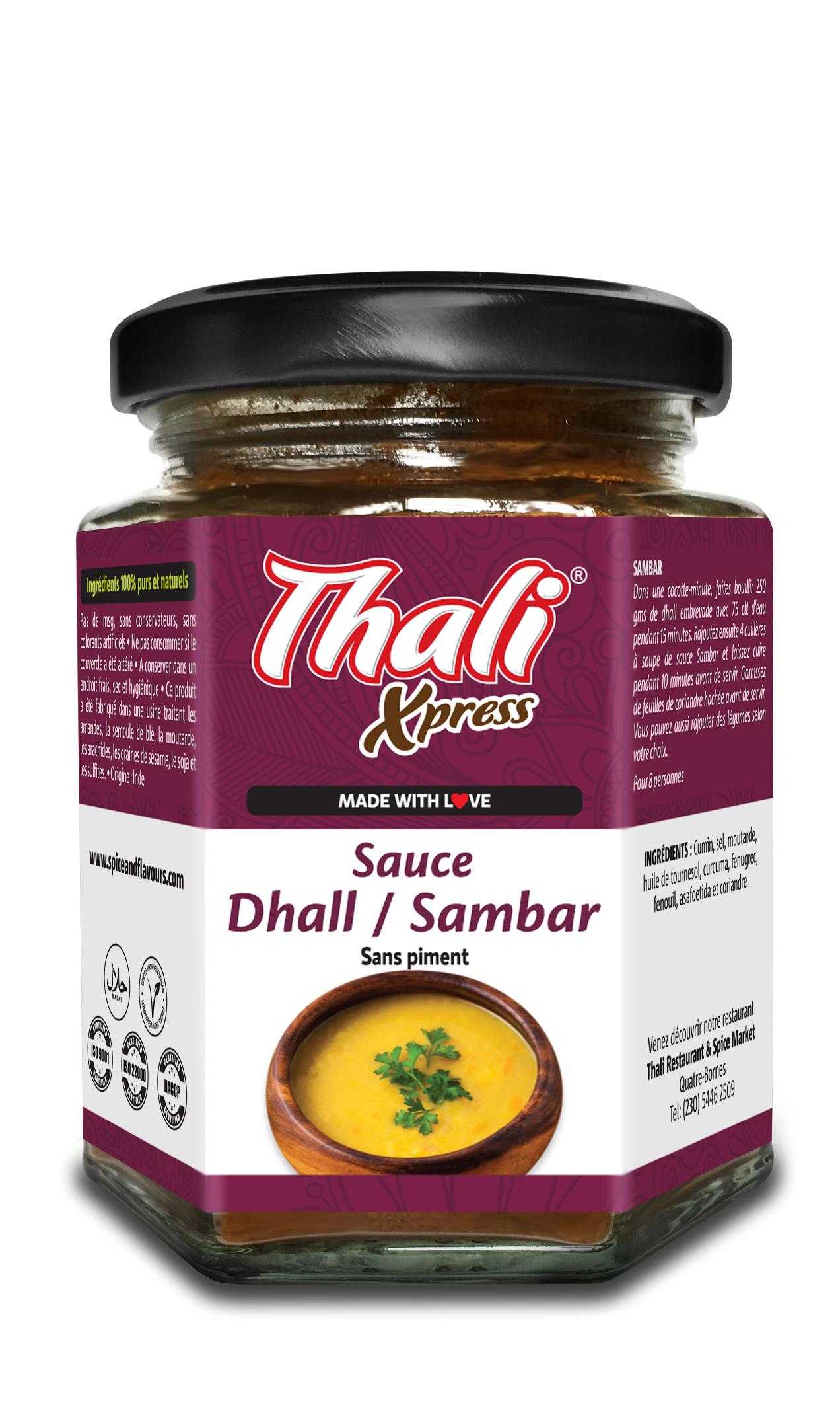 Sauce Dhall / Sambar Image