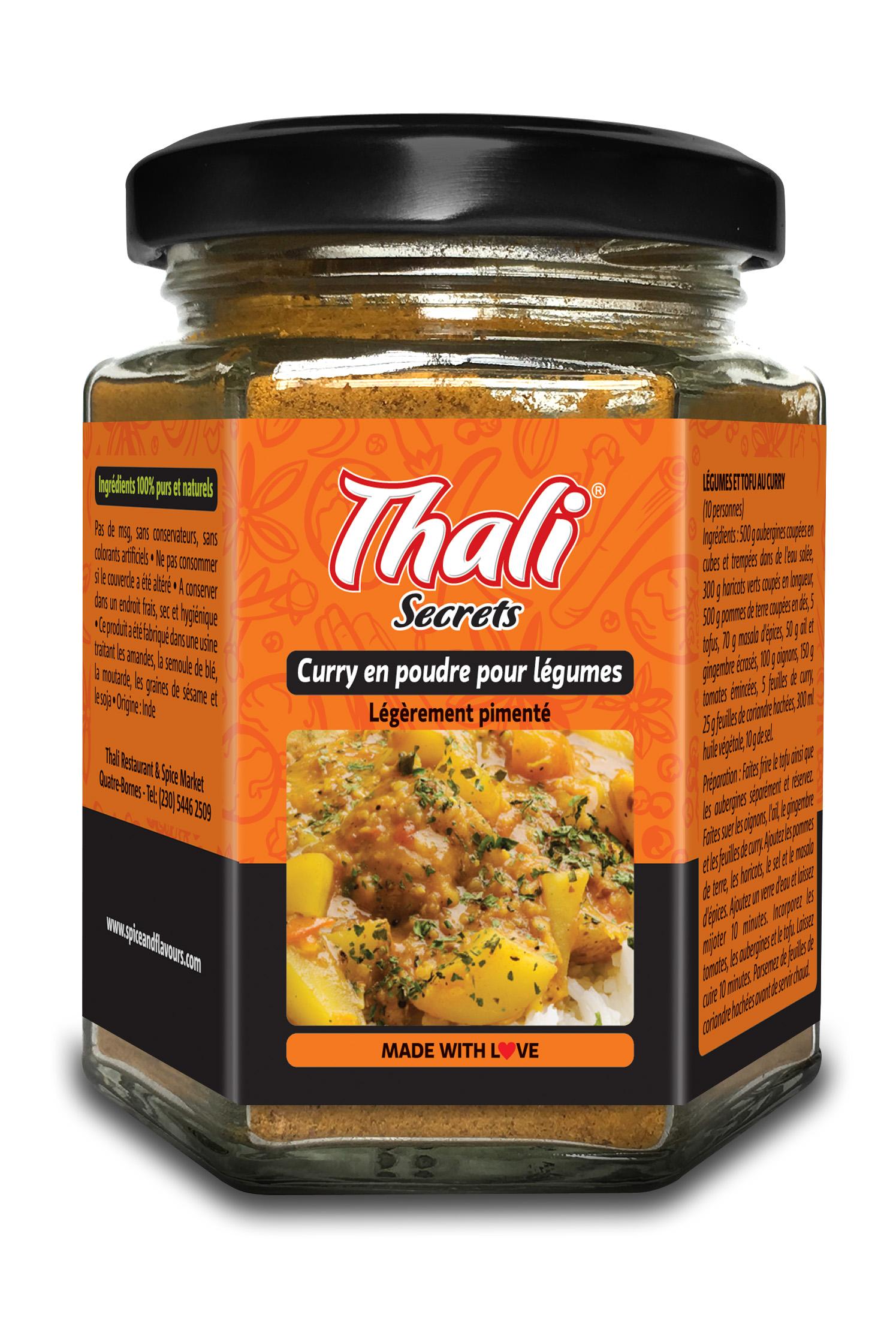 Curry en poudre pour légumes Image