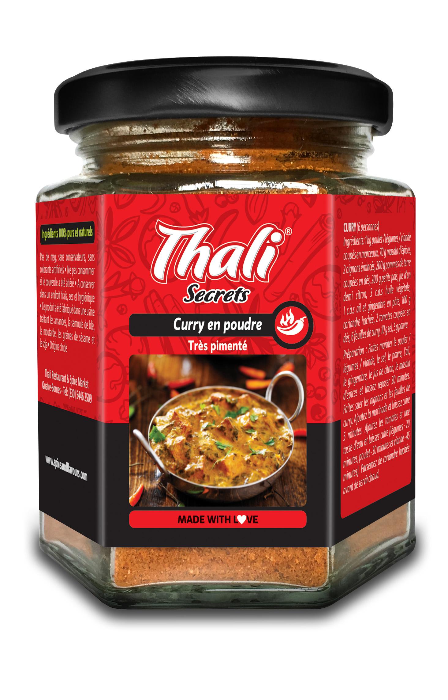 Curry en poudre très pimenté Image